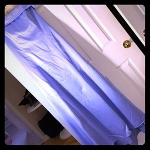 Alfred Sung strapless gown. Periwinkle lined. Sz16